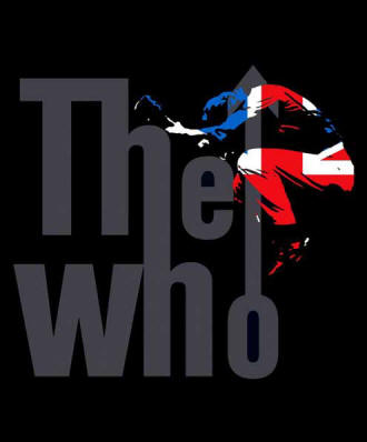 The Who Union Jack Jump Blanket